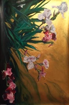 Glamorous Pink Iris- Available