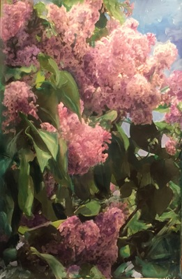 Springtime Lilac- Private Collection