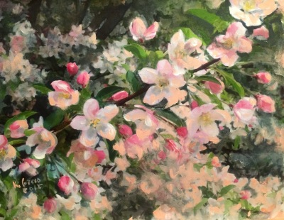 Spring Blooming White- Private Collection