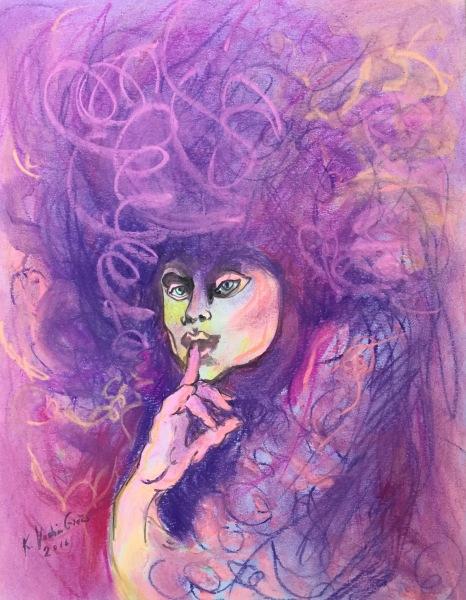 Purple Venetian- Available