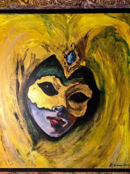 Yellow Venetian- Available