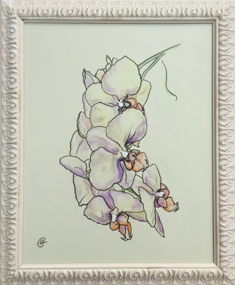 A Touch Of Tender Orchid- Available