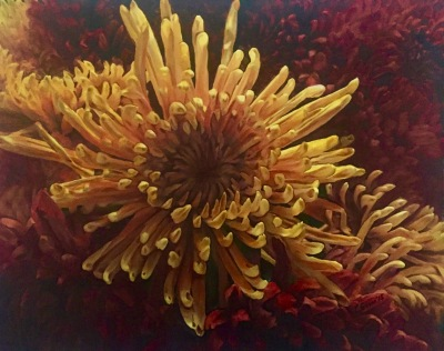 Yellow Autumn Chrysanthemum- Avaiable