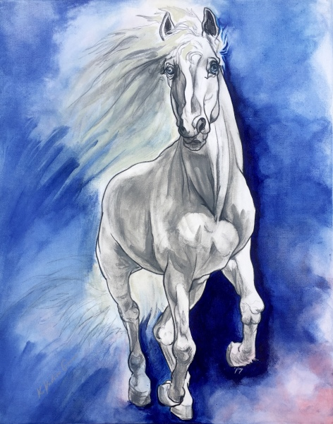 Grey Horse-Available