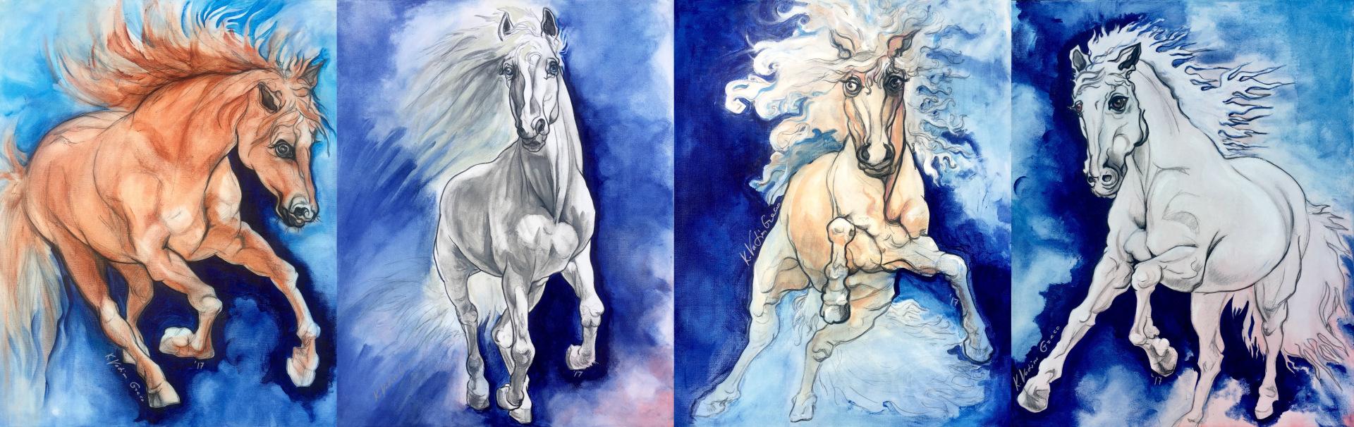 """On The Way-My Horses"""