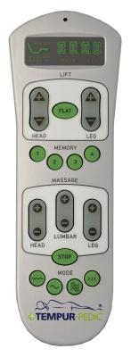 Tempurpedic Ergo Premier Remote