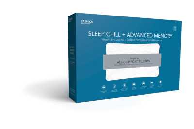 Sleep Chill Plus Advanced Memory Foam Pillow