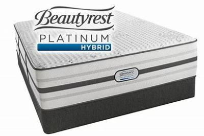 Beautyrest Platinum Hybrid Luxury Firm Set