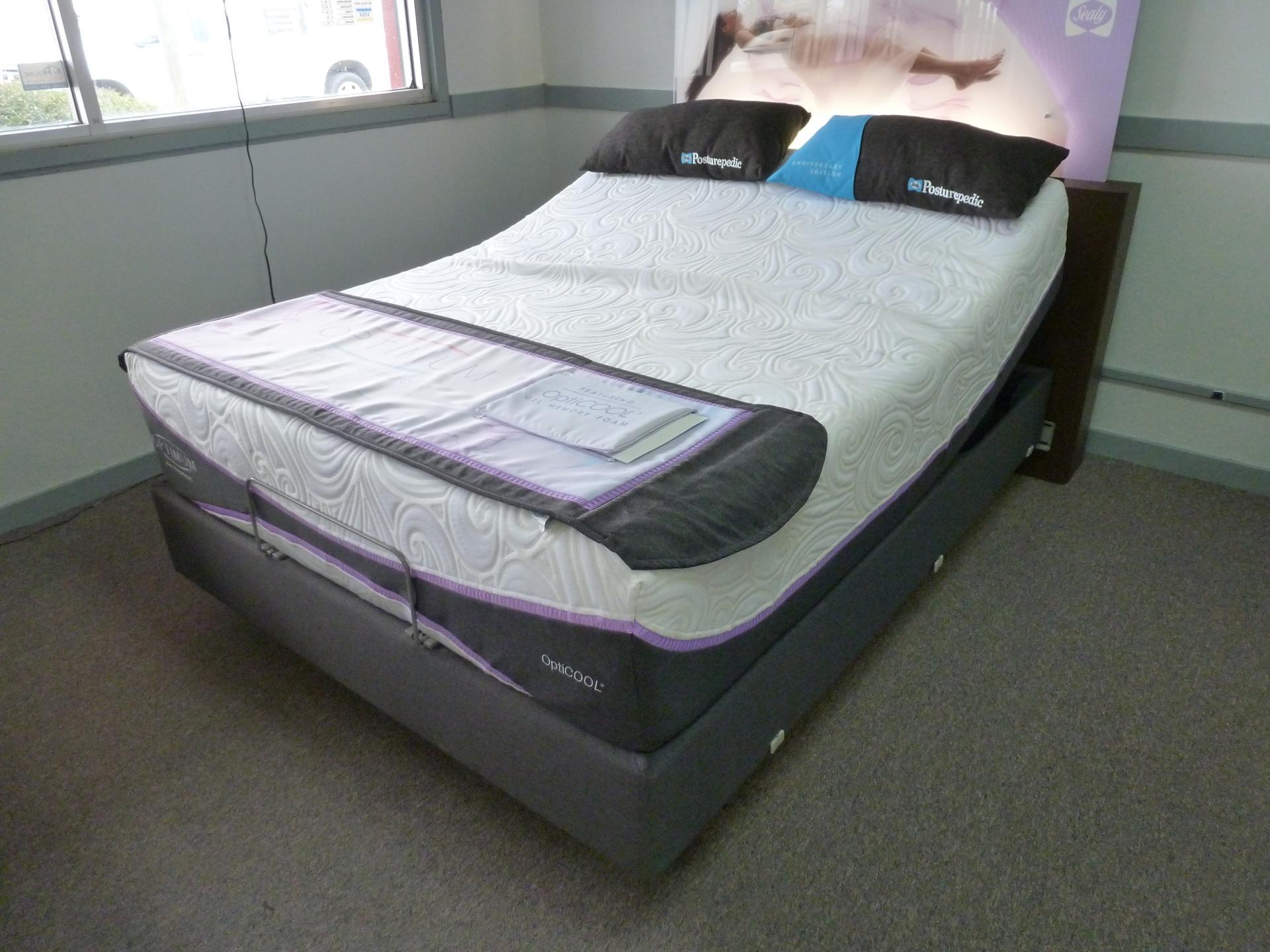 Sealy Gel Memory Foam Adjustable Bed