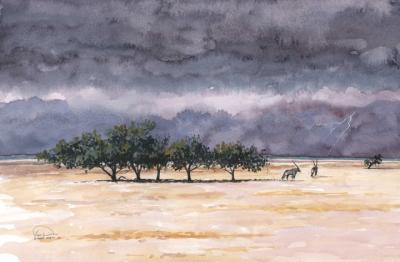 End of Dry Season Etosha