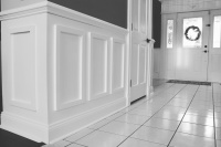 Decorative wall panels, Craftmold, Chair Rail panels, Wall Panels, DIY wall panels, Panels, Easy to install wall panels, Decorative wall panels, Decorative interior walls, Decorative interior panels