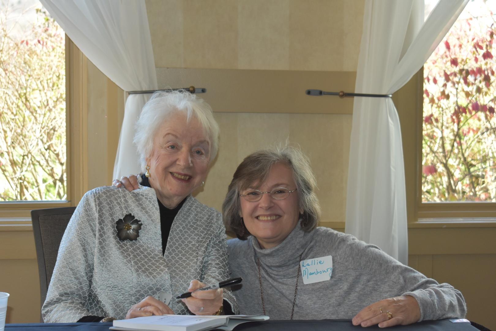 Madeleine Kunin and Lallie Mambourg