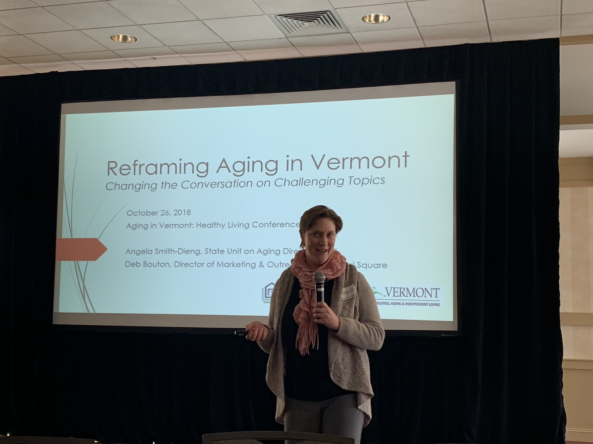 Reframing Aging Break-out Session, Angela Smith-Dieng