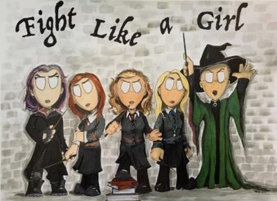 Fight Like A Girl #4