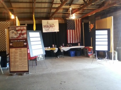 WTPWV 2017 Jefferson County Fair Booth