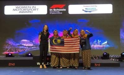 Dex-Rac won the FIA Woman in Motorsports Award