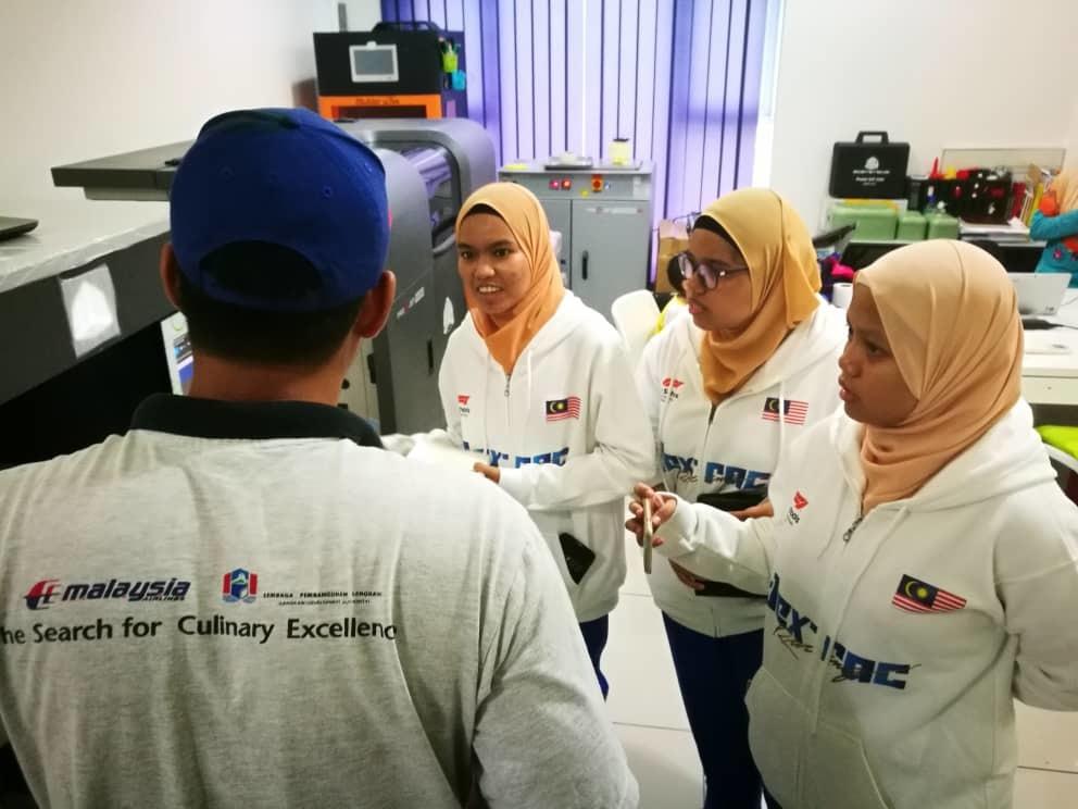 Dex-Rac visited iCreate Sdn Bhd