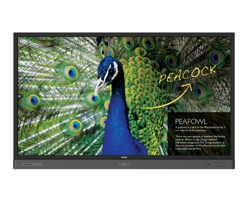 RP750K, benQ, interactive flat panel, interactive, panel, education