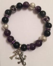 Soul Numbers Gemstone Charm Bracelet