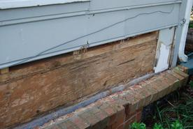 Termite damage mcdonough