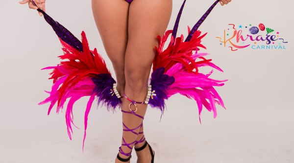 Feathered Leg Bands