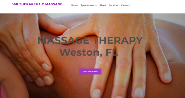 Massage Therapy Websites