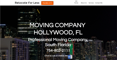 Moving Company Websites
