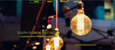 Electrical Services Websites