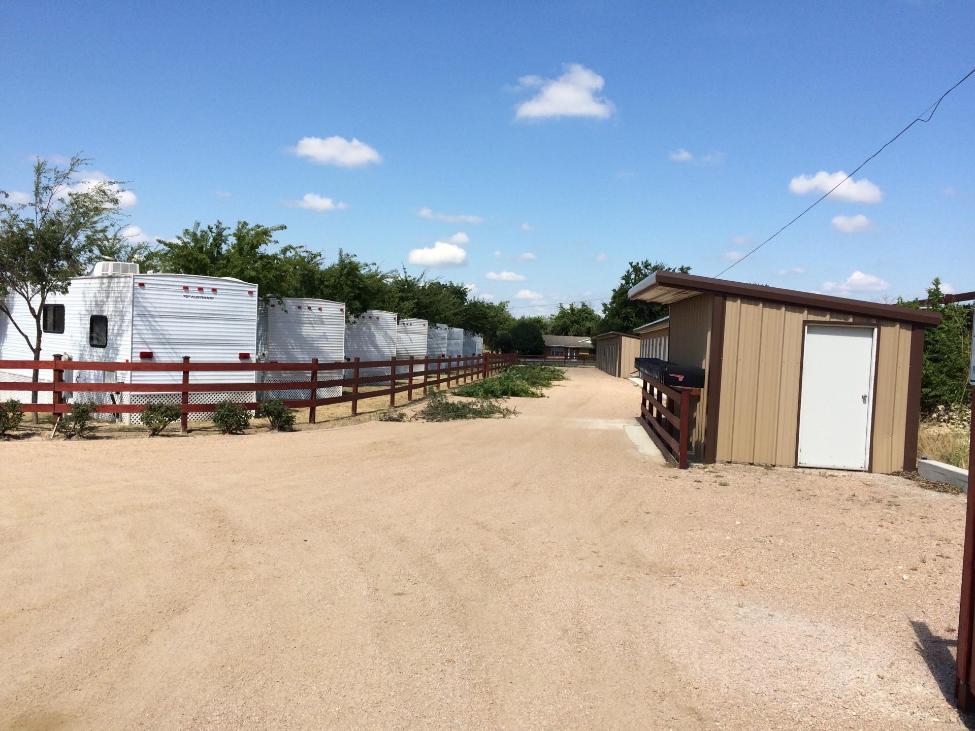 Area I Row A & Storage Units