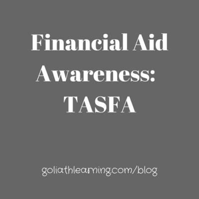 Financial Aid Awareness- Pt. 3-- TASFA FAQ