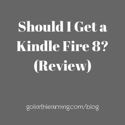Should I Get a Kindle Fire 8? (Review)