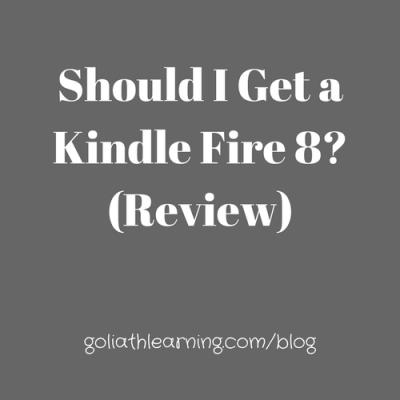 Should I Get a Kindle Fire 8? (Review)