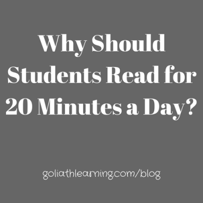 Why Should Students Read for 20 Minutes a Day?