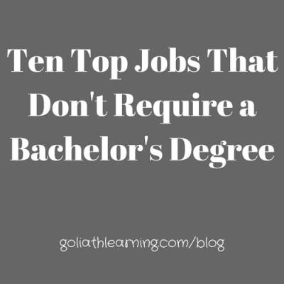 Ten Top Paying Jobs That Don't Require a 4-Year Degree