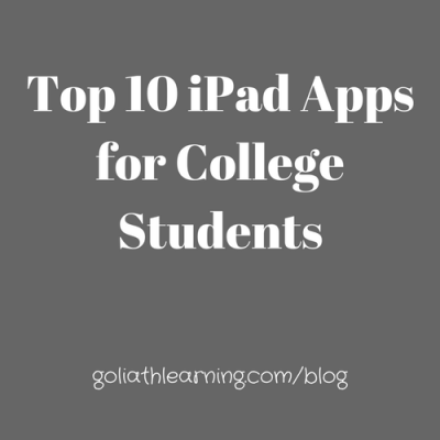Top 10 iPad Apps for College Students