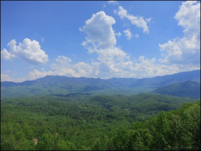 Western North Carolina landscape