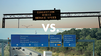 VMS vs Static Signs