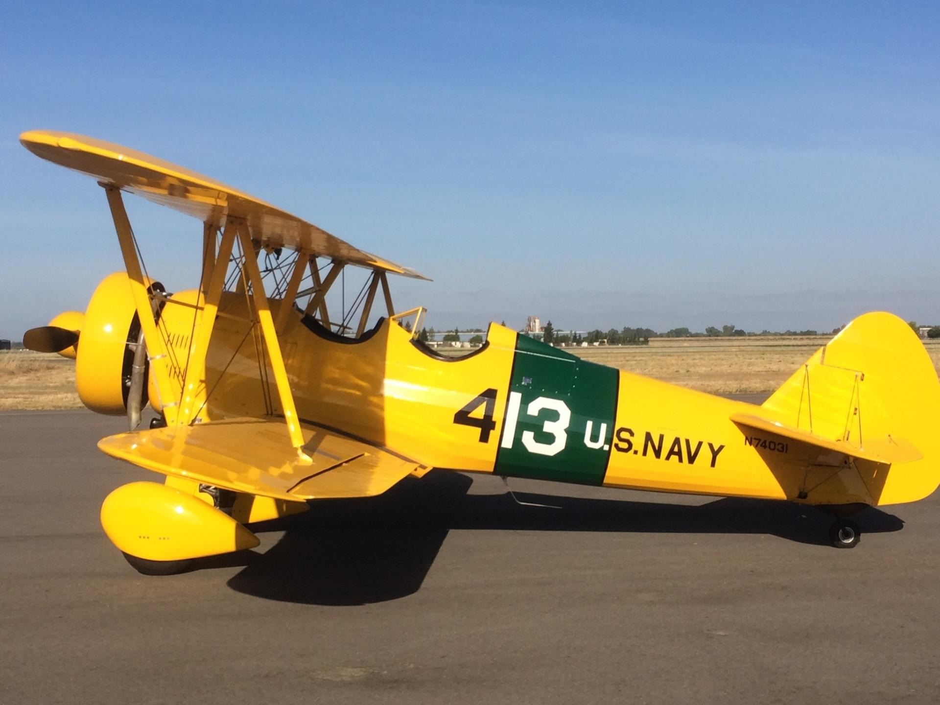 1945 Stearman Biplane