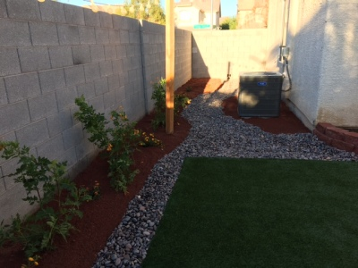 Synthetic Turf placement