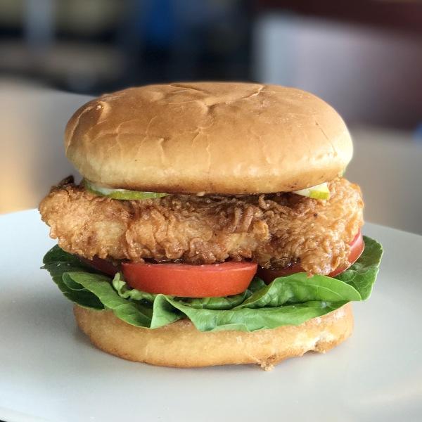 Pepper Fried Chicken Bun