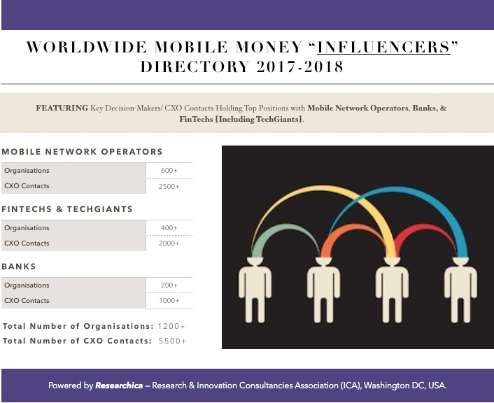 Worldwide Mobile Money Influencers Directory 2017-2018