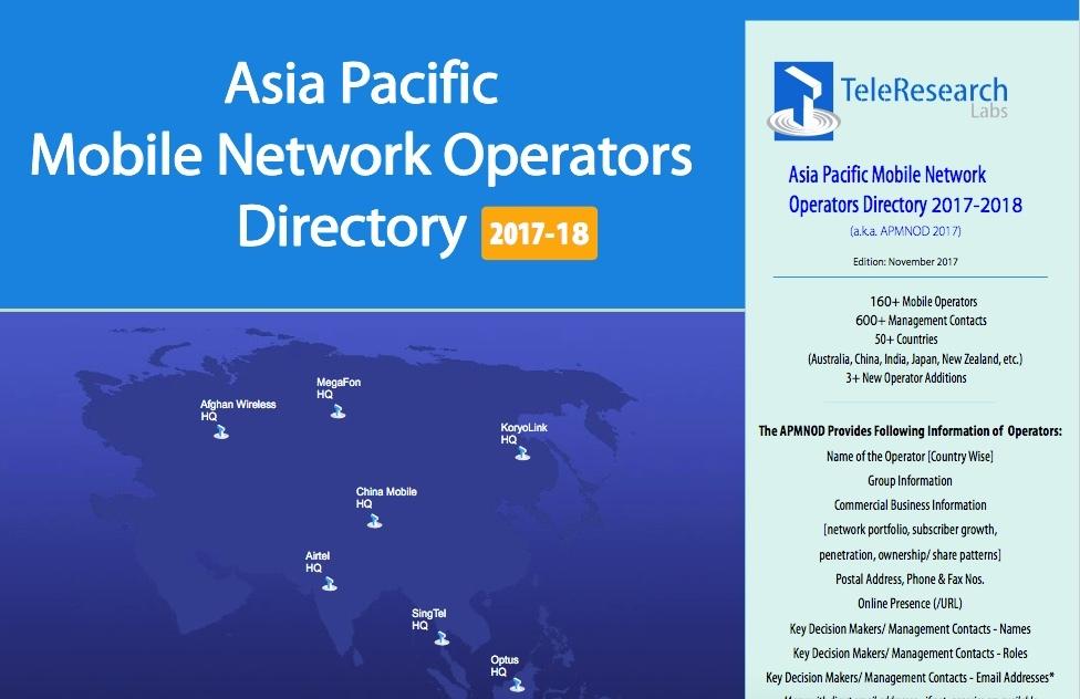 Asia Pacific MNO Directory