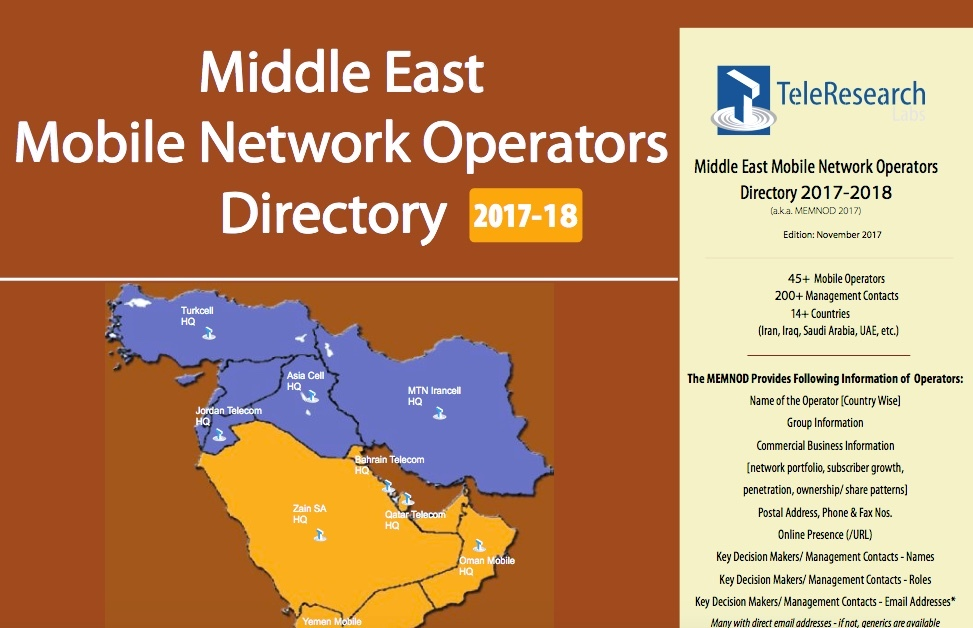 Middle East MNO Directory