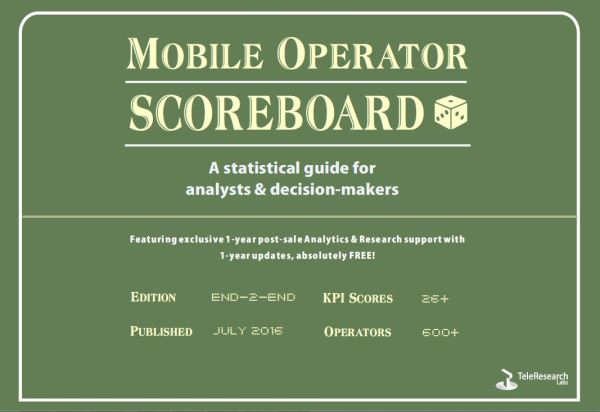 Mobile Operator Scoreboard - A Statistical Guide for Analysts & Decision Makers