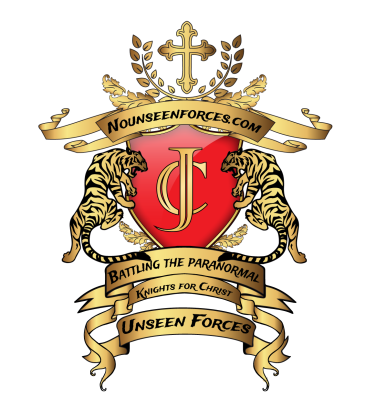 Official Unseen Forces Emblem that represents the desire to serve God where ever one may be.