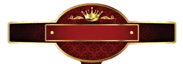 "A red and black banner with a golden crown at the top with the words ""The Alien Agenda"" on the front."