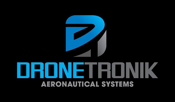 DroneTronik Black Logo