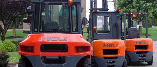 Wide range of HELI Forklifts