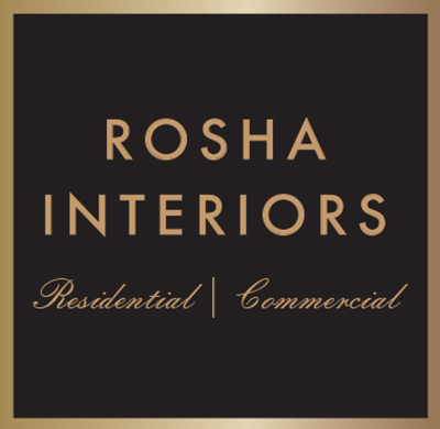 Rosha Interiors Logo- Interior Design firm in dubai UAE providing freelance interior design services