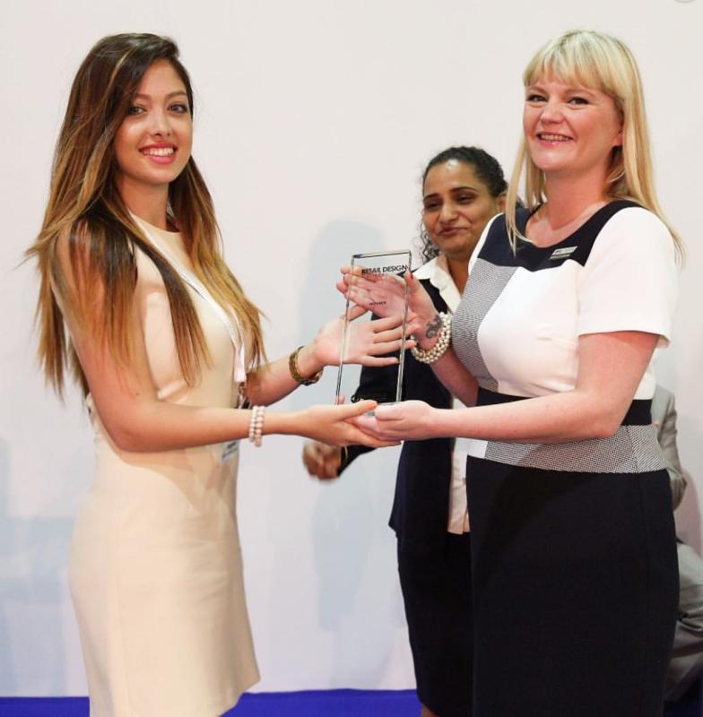 Award winning interior designer Rosha Ehsan- Interior Designer of Rosha Interiors- TOP 10 interior designer at workspace at INDEX 2016